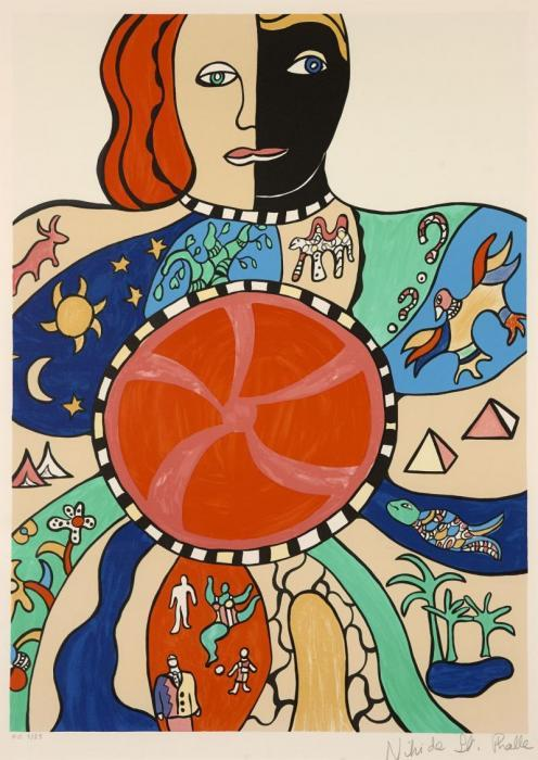 Niki de Saint Phalle-Moitie homme moitie femme-1993
