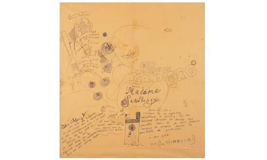 Niki de Saint Phalle-Hommage aux Sandberg-