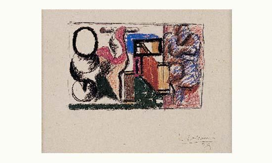 Le Corbusier-Composition-1929