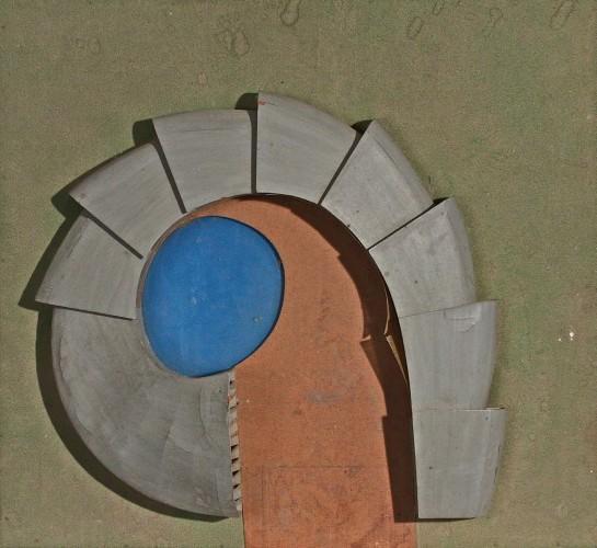 Le Corbusier-Maquette du Musee de l'horticulture-1950