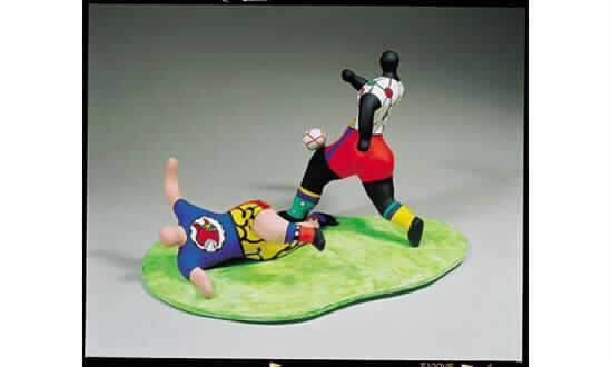 Niki de Saint Phalle-Les footballeurs-1993