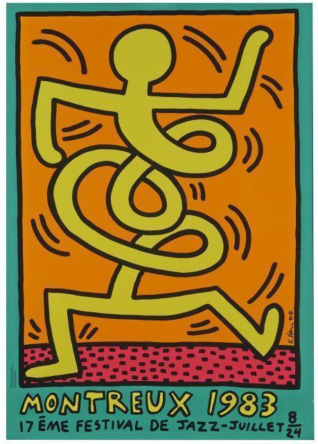 Keith Haring-Keith Haring - Festival de jazz de Montreux, 1983-1983