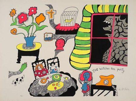 Niki de Saint Phalle-Nana Power X-1970