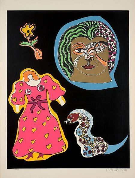 Niki de Saint Phalle-Nana Power VI, (Nana Power VIII), (Ohne Titel)-1970