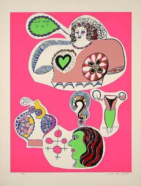 Niki de Saint Phalle-Nana Power VIII, (Nana Power VI), (What shall I do Next Year )-1970