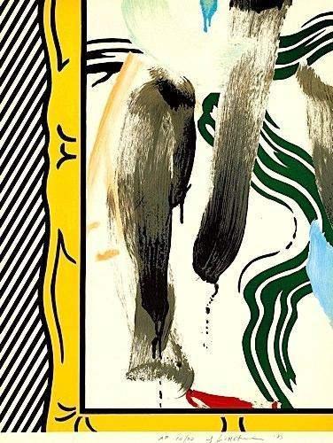 Roy Lichtenstein-Against Apartheid-1983