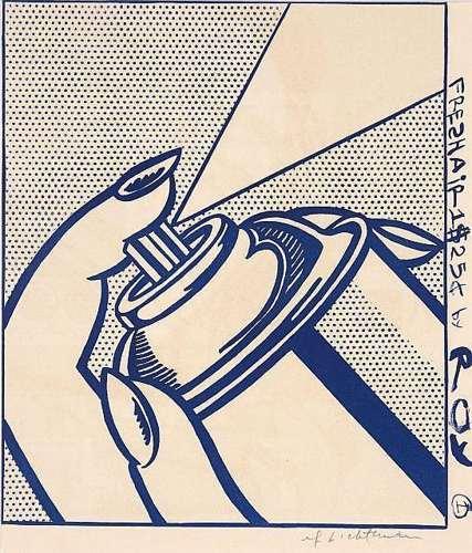 Roy Lichtenstein-Spray Can-1963