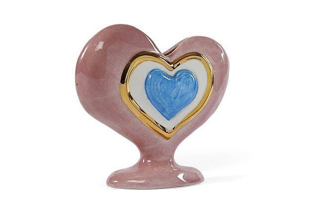 Niki de Saint Phalle-Coeur vase-1986