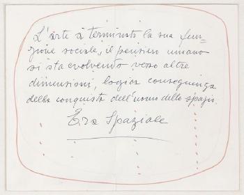 Lucio Fontana-Projet de couverture-