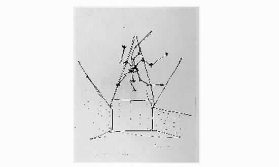 Lucio Fontana-Plafone al neon-1951