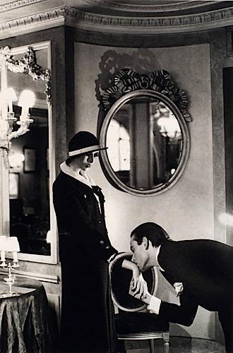 Helmut Newton-Upstairs at Maxim's-1978