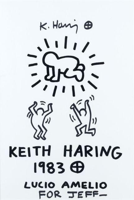 Keith Haring-Keith Haring - Sans titre-1983