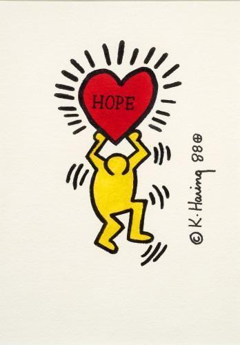 Keith Haring-Keith Haring - Hope-1988