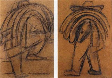 Diego Rivera-Paysan (Farmer)-1939