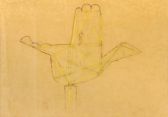 Le Corbusier-Main de Chandigarh-1952