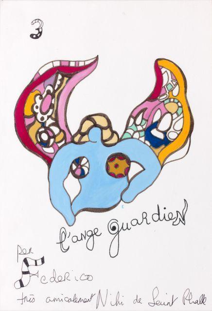 Niki de Saint Phalle-L'ange guardien-