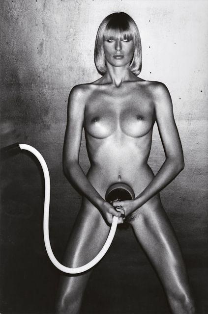 Helmut Newton-Beauty Treatment, Vogue Homme (1975)-1975