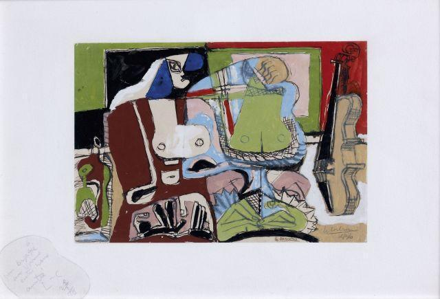 Le Corbusier-Les perruches-1936