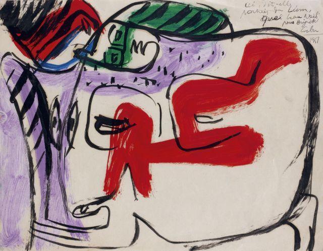 Le Corbusier-Deux femmes en buste-