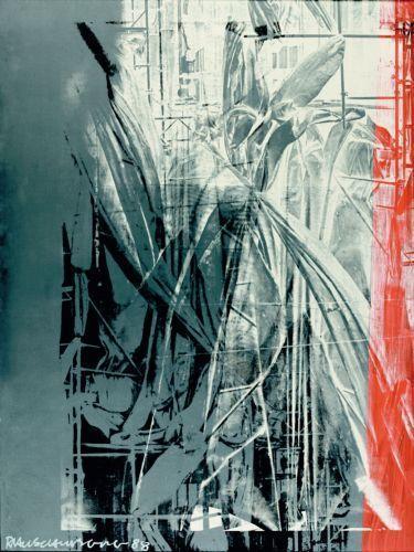 Robert Rauschenberg-Robert Rauschenberg - Wrap Up (Galvanic Suite)-1988