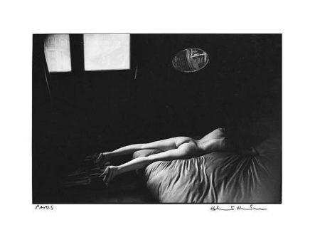 Helmut Newton-Nu au miroir, Paris-1976