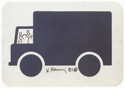 Keith Haring-Keith Haring - La promenade des Anglais-1987
