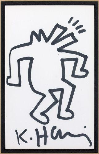 Keith Haring-Keith Haring - Shouting figure-