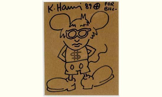 Keith Haring-Keith Haring - Mickey-1989