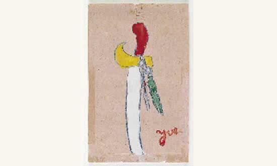 Yves Klein-Le sabre-