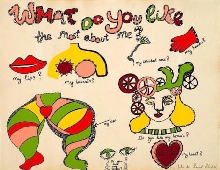 Niki de Saint Phalle-What do you likethe most about me-1970