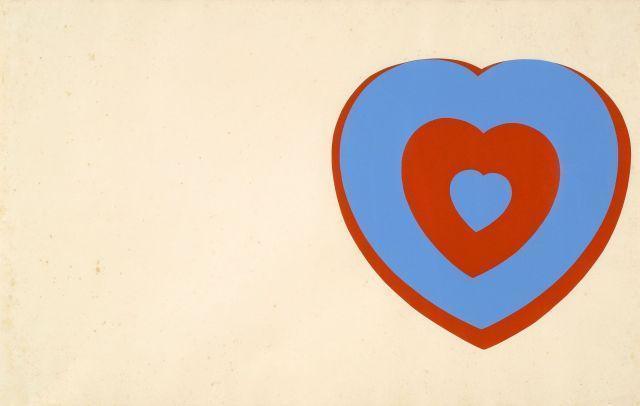 Marcel Duchamp-Coeurs Volants-1961