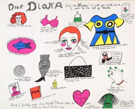 Niki de Saint Phalle-Dear Diana-1968