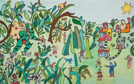 Niki de Saint Phalle-La jungle-1990