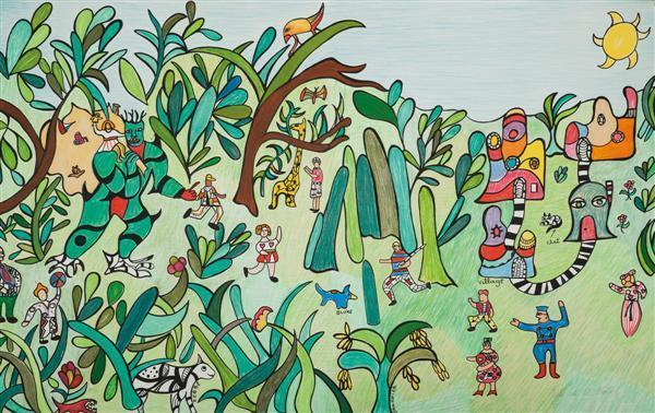 Niki de Saint Phalle-La jungle-1990