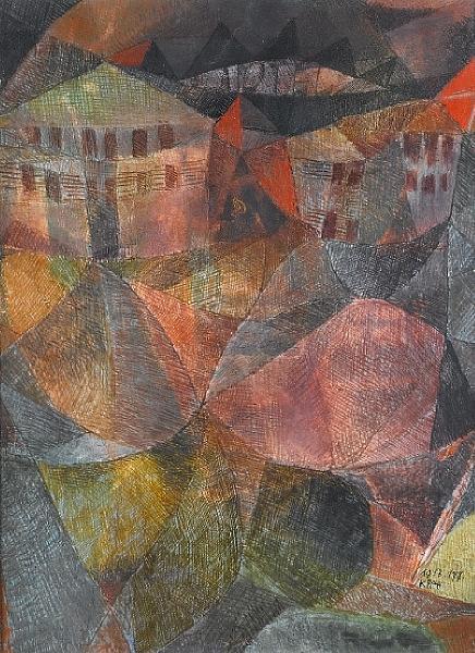 Paul Klee-Das Hotel-1913