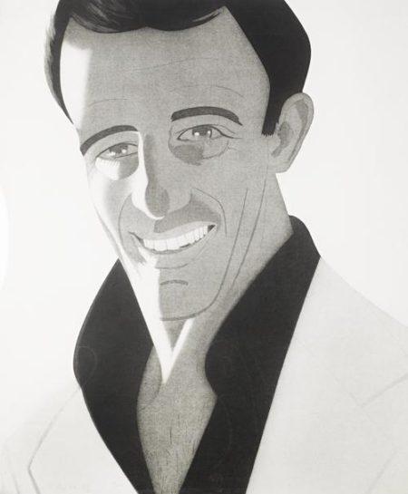 Alex Katz-Self-Portrait (Schroder 111)-1978