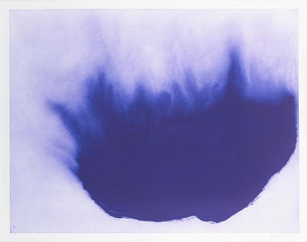 Anish Kapoor-12 Etchings (IV) / Twelve Etchings (IV) / Untitled / Blue Form / Farbaquatinta-2007