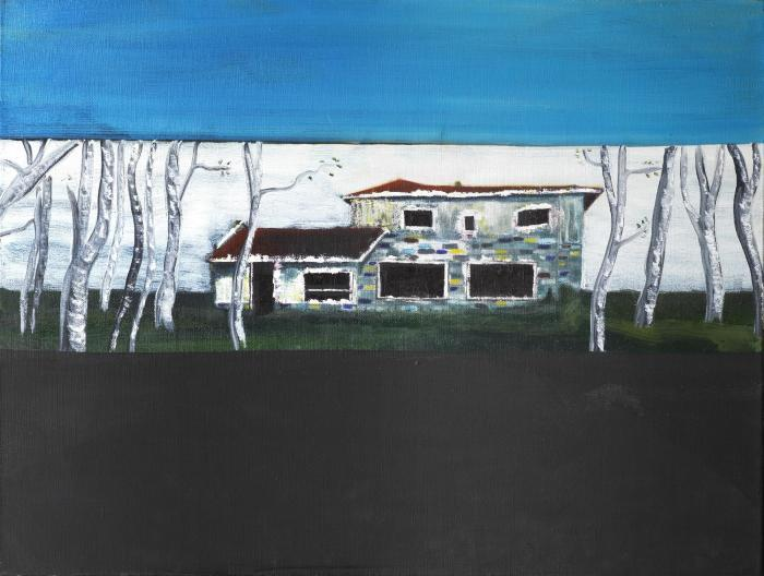Peter Doig-Road House-1989