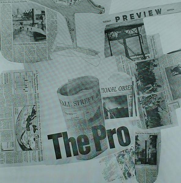 Robert Rauschenberg-Robert Rauschenberg - The Pro (From Current Series)-1970
