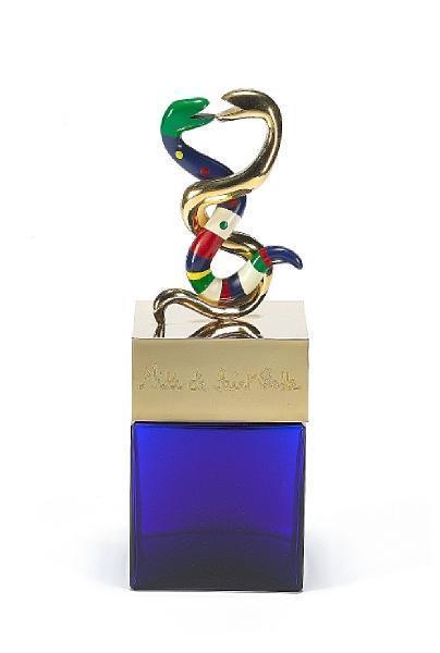 Niki de Saint Phalle-Factice geant du parfum (Dummy giant perfume); Deux Serpents (factice geant du parfum); (First Edition Scent Bottle), (Scent bottle)-1982