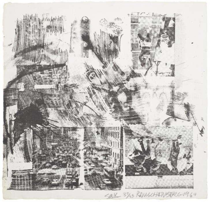 Robert Rauschenberg-Robert Rauschenberg - Sink/Rauschenberg: XXXIV Drawings for Dante's Inferno-1964