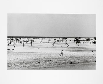 Sebastiao Salgado-Lake Faguibine, Mali-1985