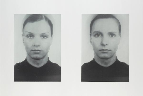 Thomas Ruff-Andere Doppelportrait I & II-1995