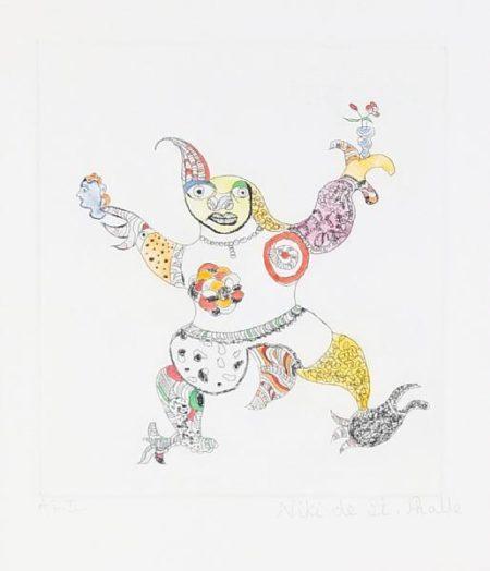 Niki de Saint Phalle-The Clown-