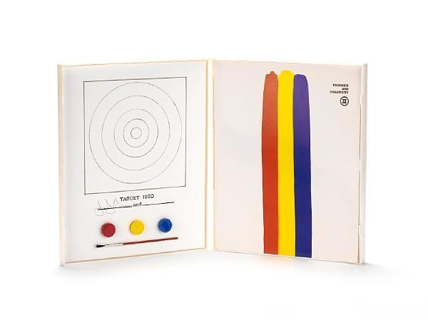 Jasper Johns-Technics and Creativity II - Target (Universal Limited Art Editions 89)-1971