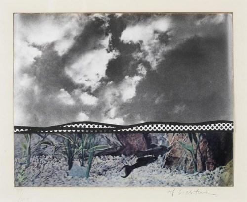 Roy Lichtenstein-Fish and Sky-1967