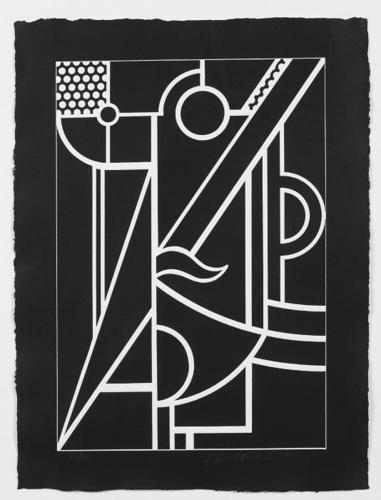 Roy Lichtenstein-Modern Head #3-1970