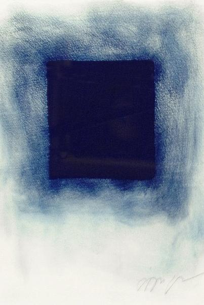Anish Kapoor-Blue Square-1996