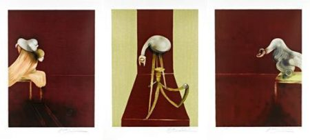Francis Bacon-Second Version of the Triptych 1944-1988