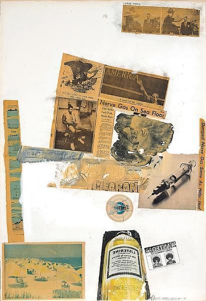 Robert Rauschenberg-Robert Rauschenberg - Letter Head-1970